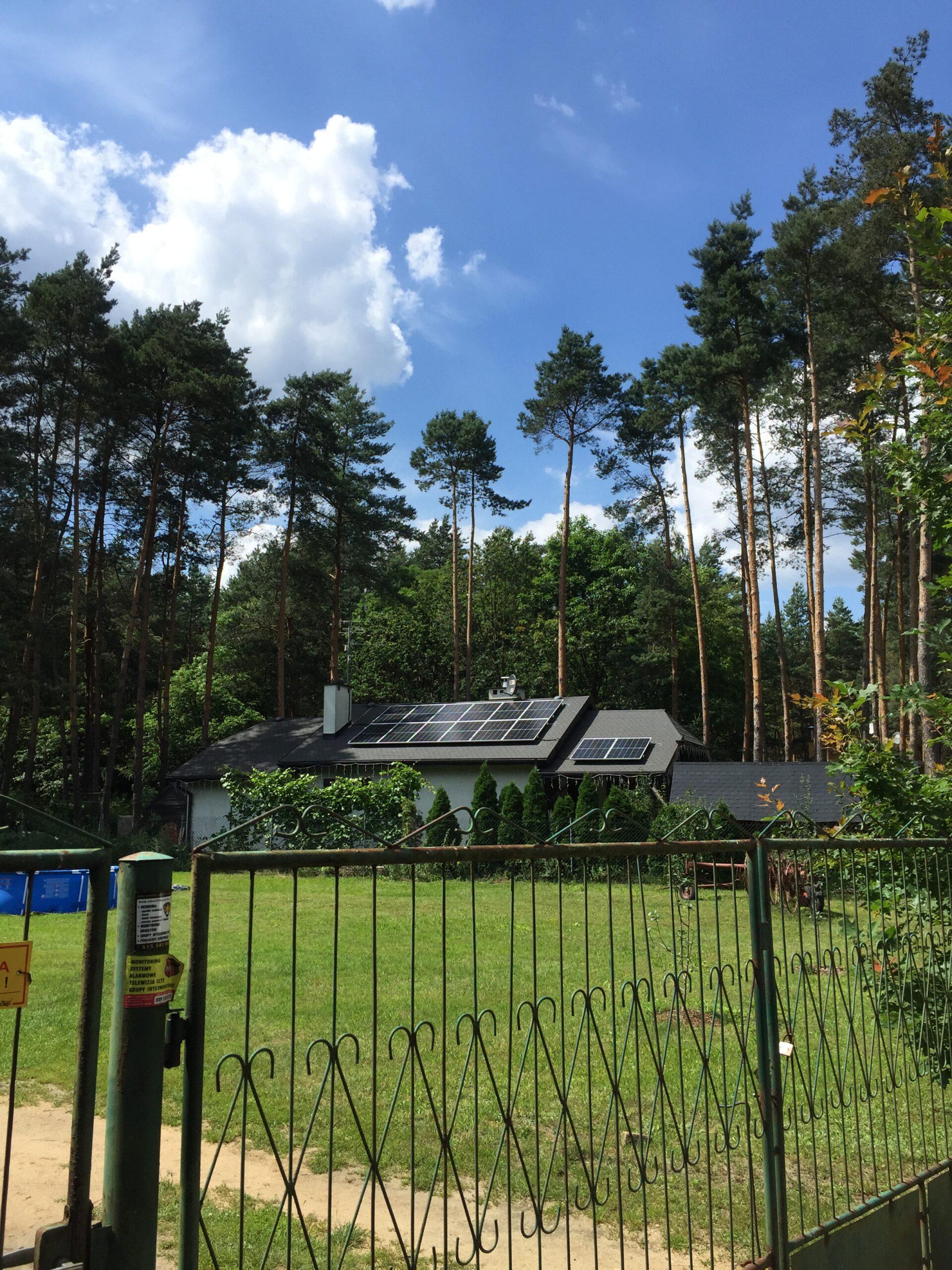 Instalacja fotowoltaiczna o mocy: 4.76 kWp – Zelów