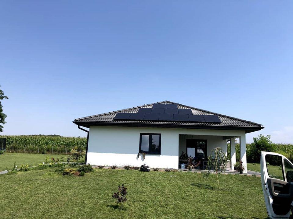 Instalacja fotowoltaiczna o mocy: 4,0 kWp Stryków