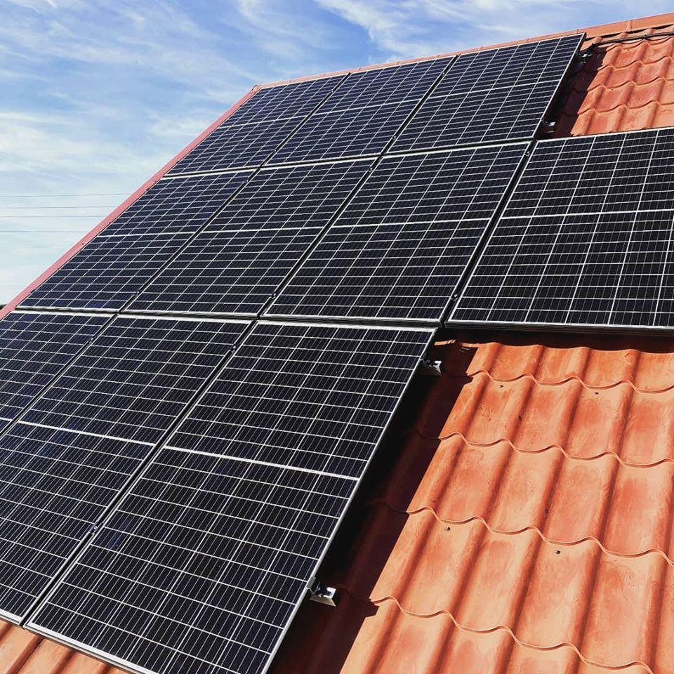 Instalacja fotowoltaiczna o mocy: 5,94 kWp Nekla