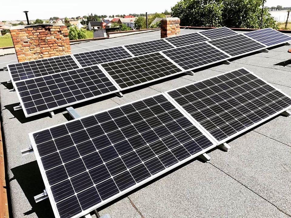 Instalacja fotowoltaiczna o mocy: 3,72 kWp