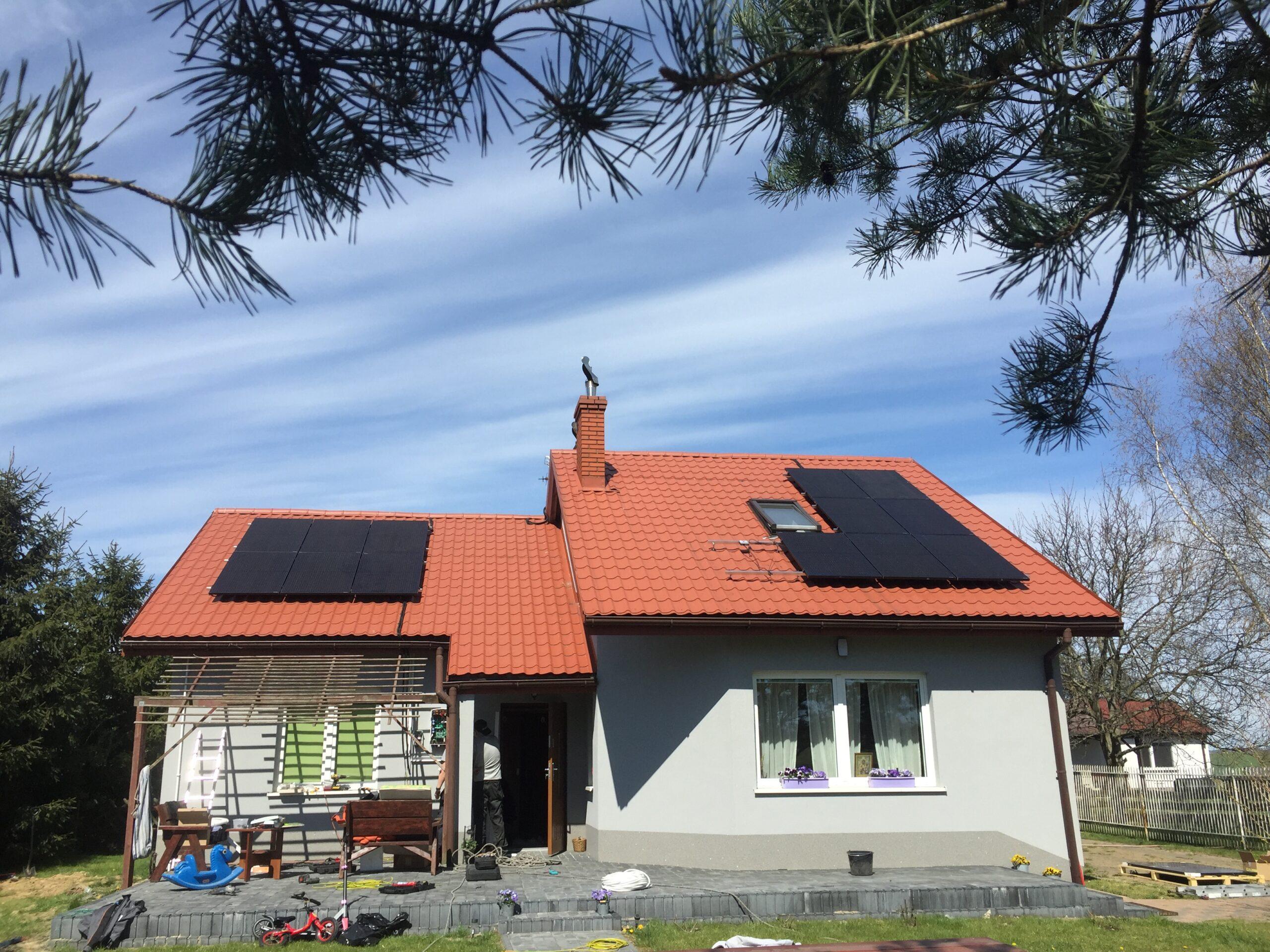 Instalacja fotowoltaiczna o Mocy : 4,34 kWp Koluszki