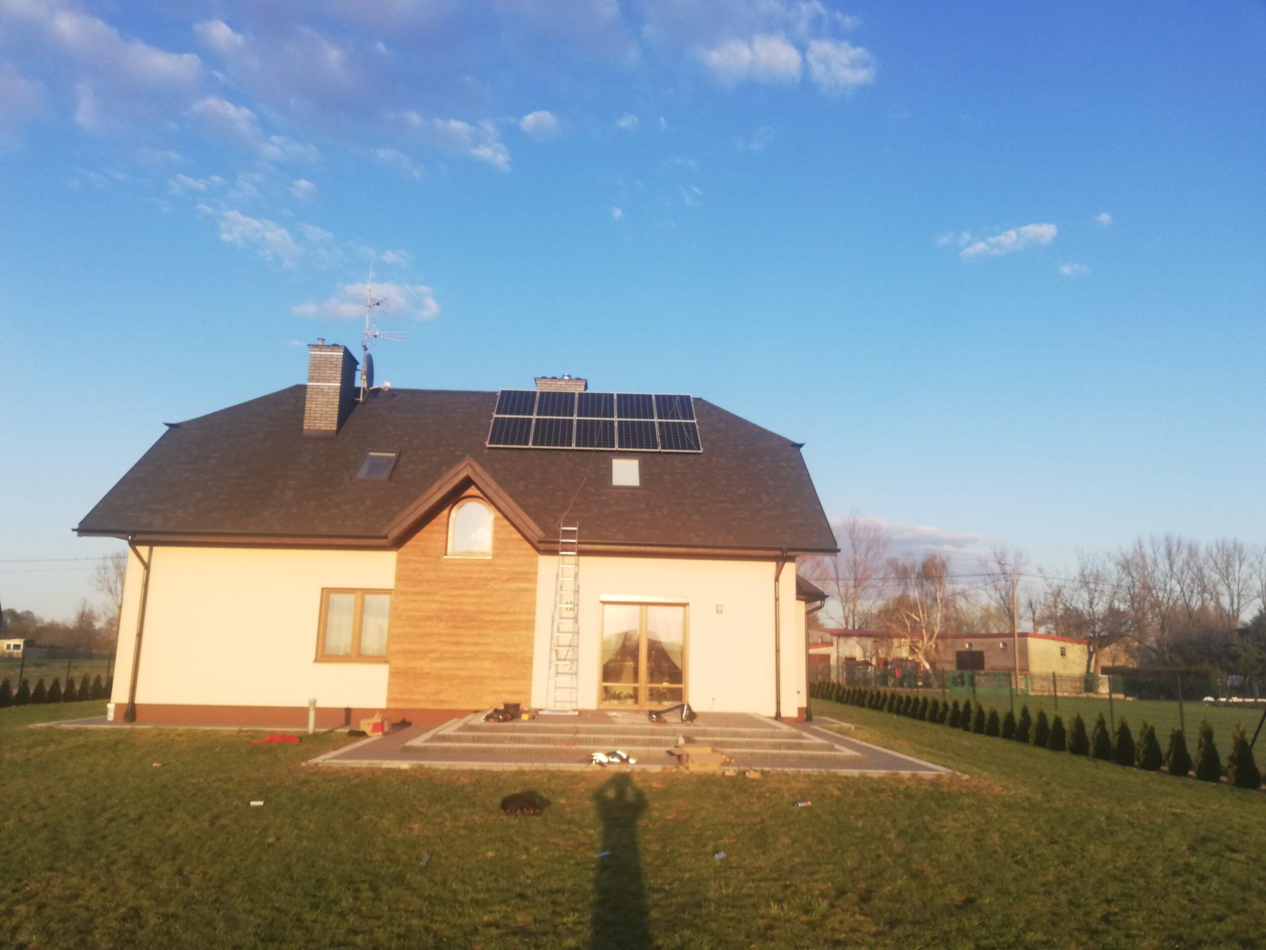 Instalacja fotowoltaiczna o Mocy : 3,1 kWp Piekary