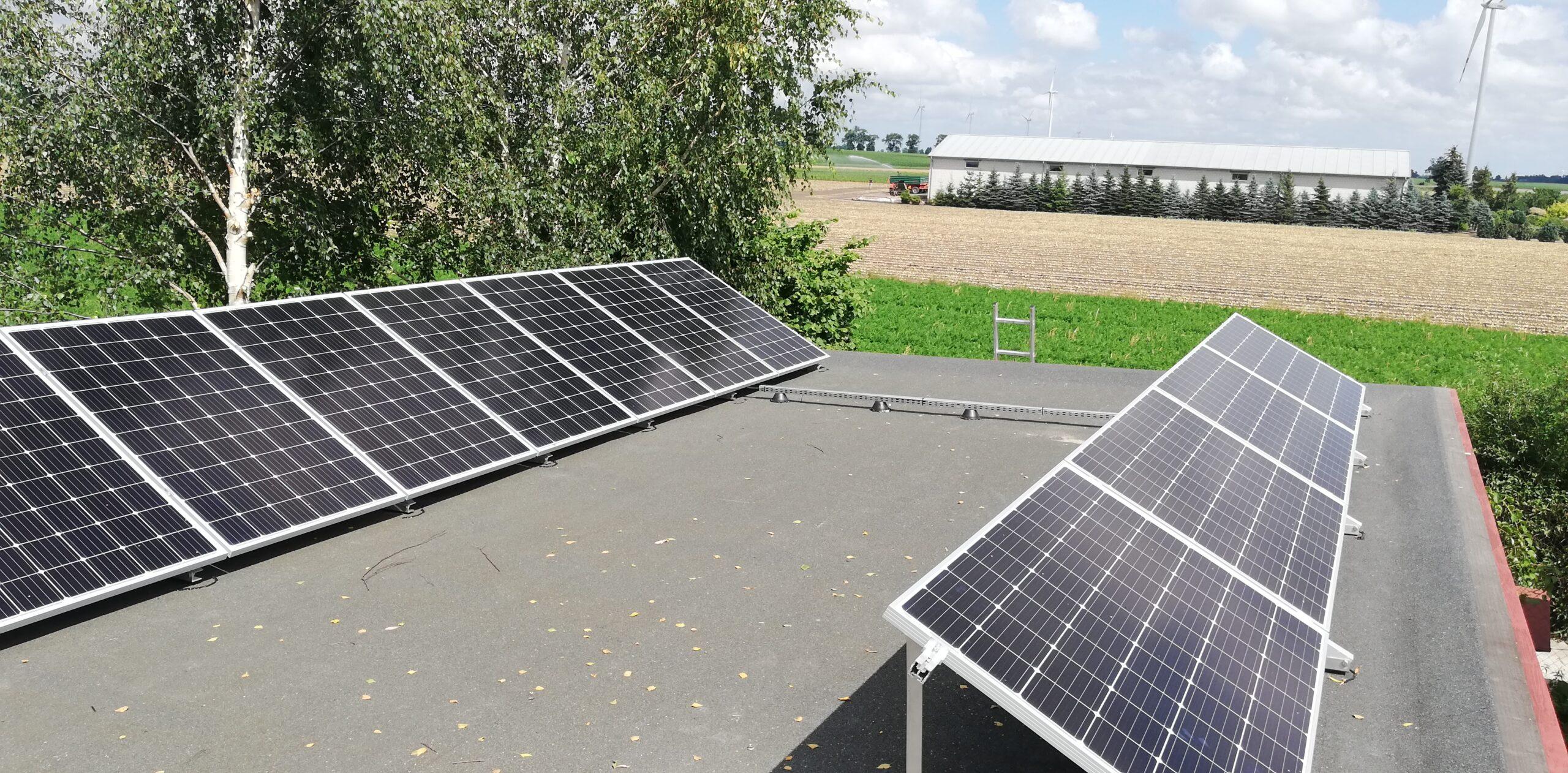 Instalacja fotowoltaiczna o Mocy : 4,34 kWp Broniewek