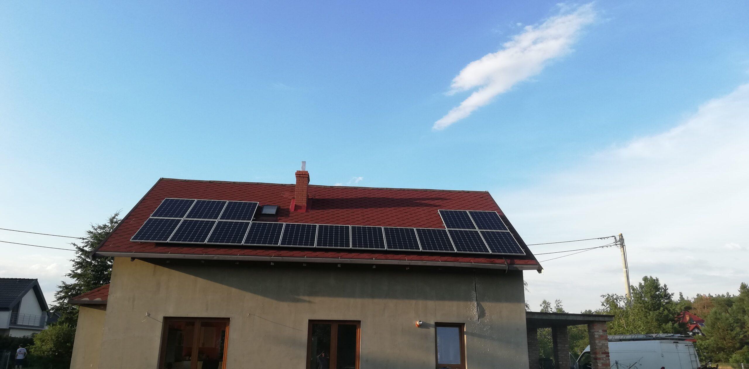 Instalacja fotowoltaiczna o mocy: 4,86 kWp – Toruń