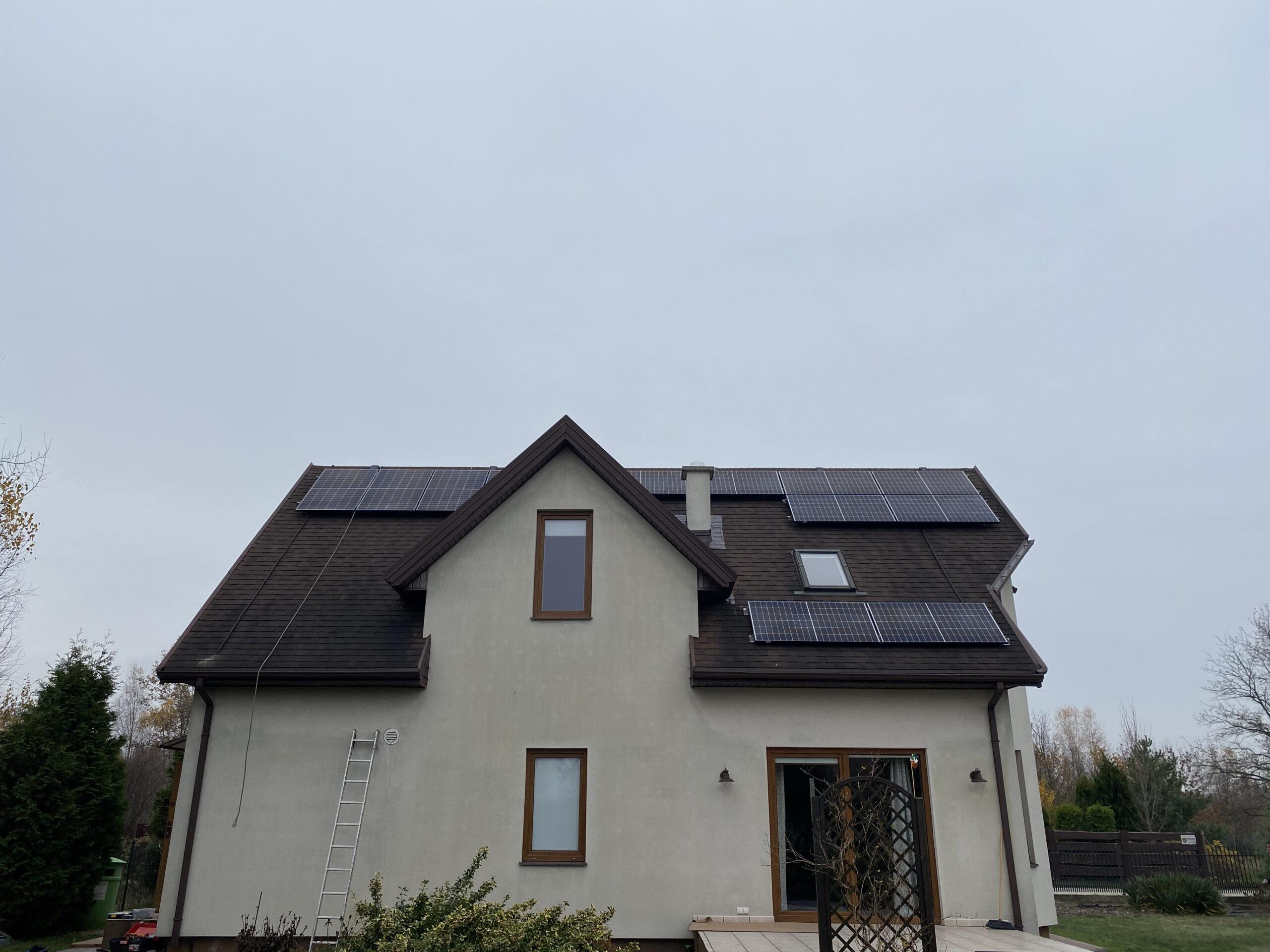 Instalacja fotowoltaiczna o Mocy : 9,99 kWp Wielgolas Brzeziński