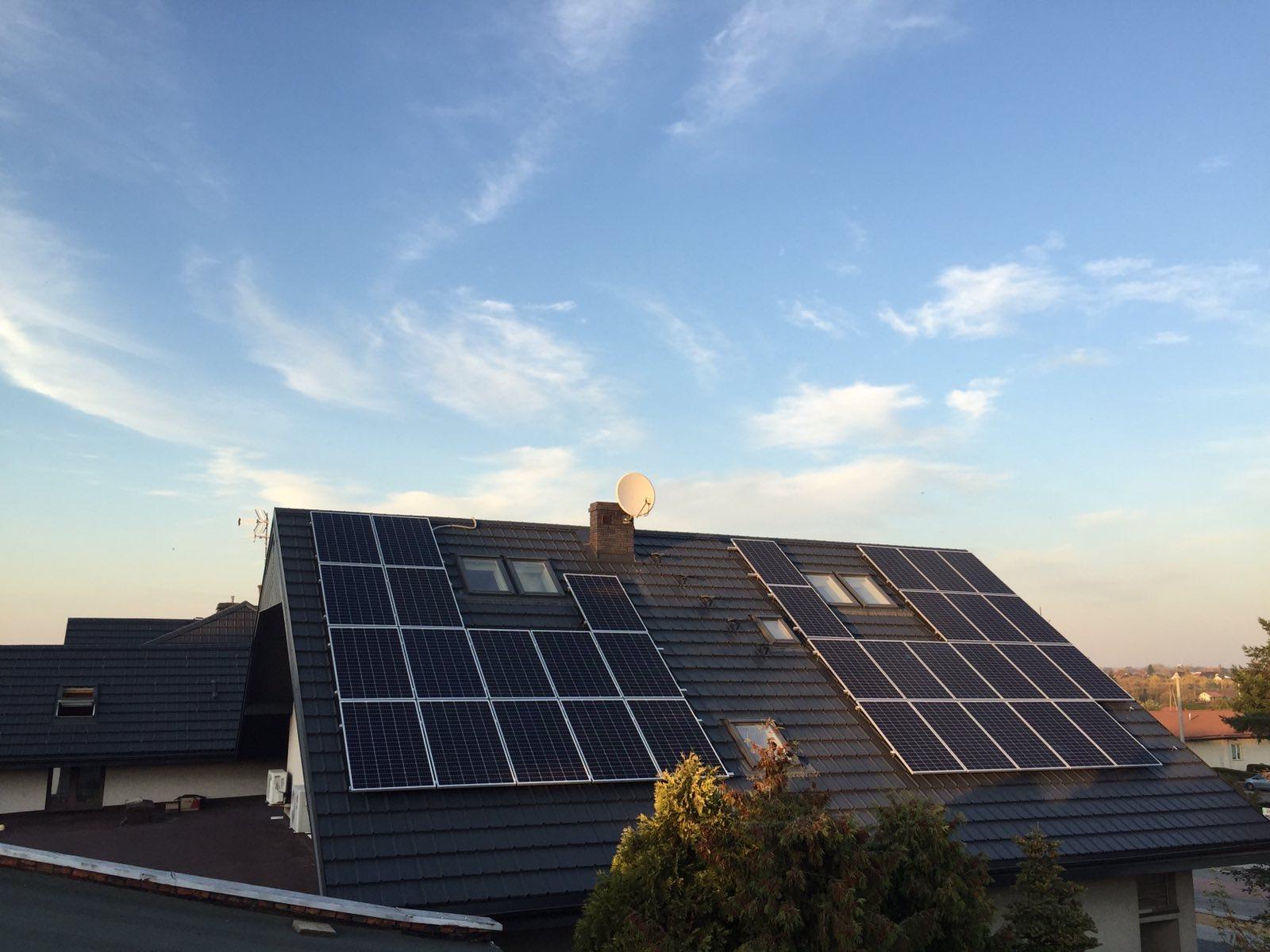 Instalacja o Mocy : 9,98 kWp – Wieluń