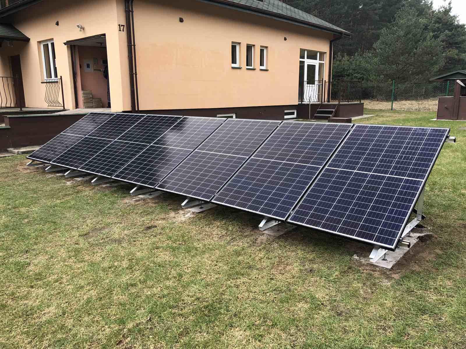 Instalacja fotowoltaiczna o Mocy : 2,38 kWp Ozorków